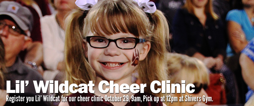 Lil' Wildcat Cheer Clinic