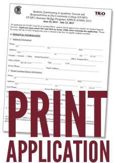Print Summer Bridge Application