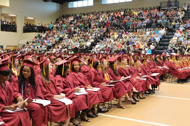 PRCC Graduation Crowd